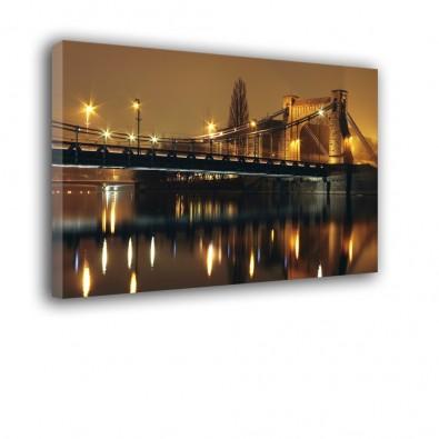 Most Grunwaldzki nocą - obraz na ścianę nr 2191