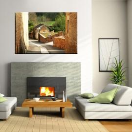 Uliczka Prowansji - obraz na ścianę nr 2204