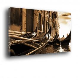 Weneckie gondole - obraz nowoczesny nr 2015
