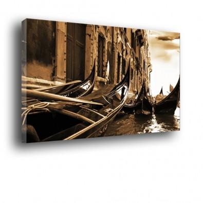 Weneckie gondole obraz