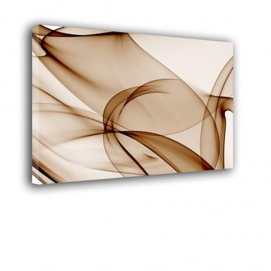 Brązowe paski - obraz nowoczesny - abstrakcja nr 2231
