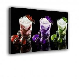 Kolorowe Drinki - obraz na ścianę nr 2238