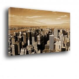 Panorama miasta - obraz