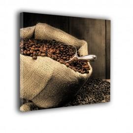Kawa w worku - obraz na płótnie nr 2254