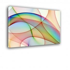 Barwy tęczy - obraz nowoczesny nr 2256