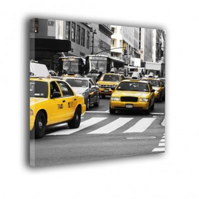 Żółte taksówki  - obraz na ścianę nr 2260