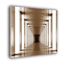 Tunel w sepii - obraz na płótnie nr 2282