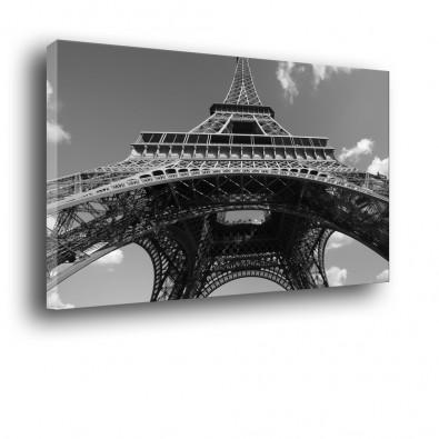 Wieża Eiffla - obraz czarno biały nr 2022