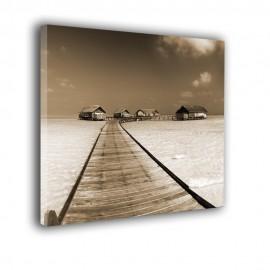 Pomost Malediwy - obraz na płótnie nr 2338