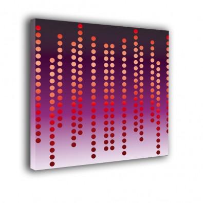 Dziurkowana przestrzeń - obraz nowoczesny abstrakcja nr 2341