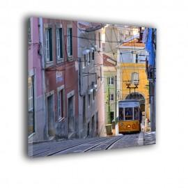 Tramwaj w Lizbonie - obraz nowoczesny nr 2355