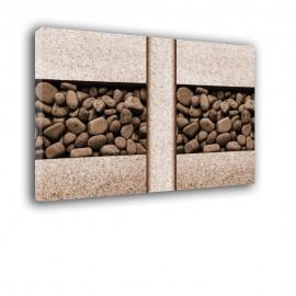 Granit z kamieniami - obraz na ścianę nr 2359