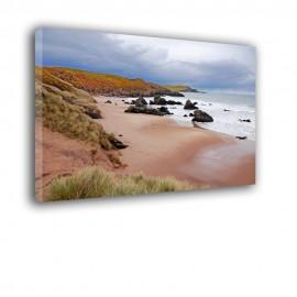 Romantyczne nabrzeże morza - obraz na płótnie nr 2367