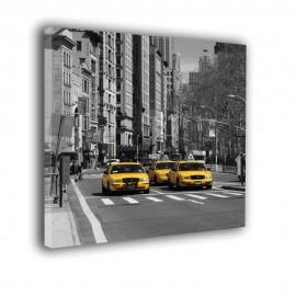 Skrzyżowanie ulic w Nowym Jorku - obraz na płótnie nr 2371