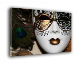 Karnawałowa maska - obraz na płótnie nr 2385