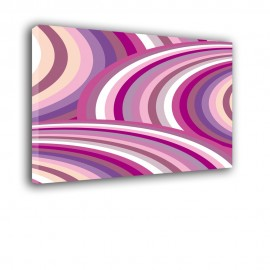 Fioletowe fale | obraz abstrakcja nr 2394