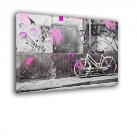 Biały rower - obraz nowoczesny nr 2399