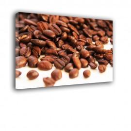 Rozsypane ziarna kawy - obraz nowoczesny nr 2401