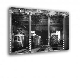 Zajezdnia tramwajowa - obraz na ścianę nr 2417