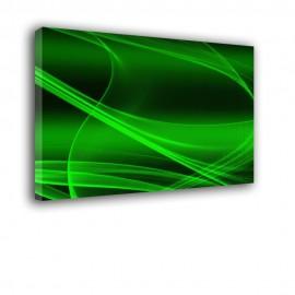 Zielona herbata - obraz nowoczesny abstrakcja nr 2419