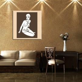 Siedząca kobieta - obraz nowoczesny nr 2411