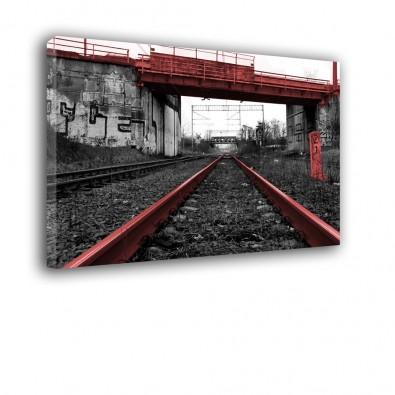 Wiadukt kolejowy - obraz na ścianę nr 2427