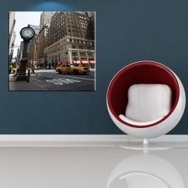Zegar uliczny w Nowym Jorku - obraz na ścianę nr 2452
