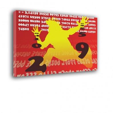 Liczba Pi mamatyka - obraz na ścianę nr 2455