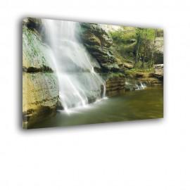 Szum wodospadu - obraz na płótnie nr 2479