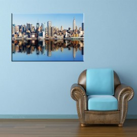 Błękitny New York - obraz na ścianę nr 2515