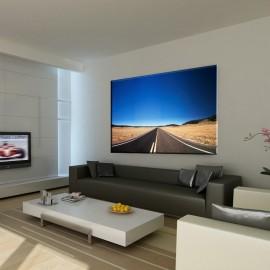 Droga na pustyni - obraz na ścianę nr 2518