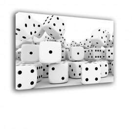 Kostki do gry - obraz na ścianę nr 2052