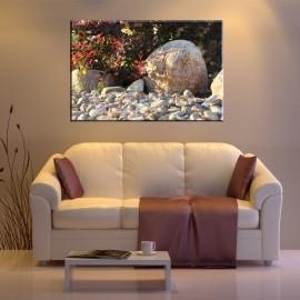 Kamień na kamyczkach - obraz na płótnie nr 2522