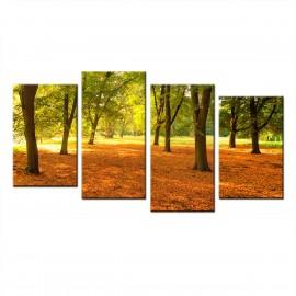 Park - obraz na płótnie wieloczęściowy nr 60010