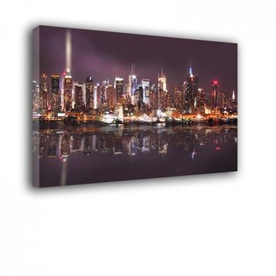 Manhattan nocą - obraz nowoczesny nr 3556