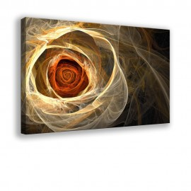 Róża fraktalna - obraz nowoczesny kwiaty nr 10011
