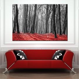 Parkowa impresja - obraz nowoczesny drzewa nr 10015