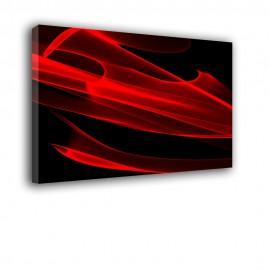 Czerwony podmuch - obraz nowoczesny nr 2055