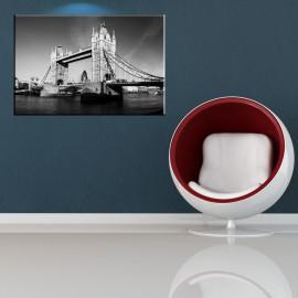 Czarno biały Tower Bridge - obraz nowoczesny nr 2063