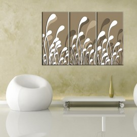 Beżowa cisza - obraz nowoczesny abstrakcja nr 2603
