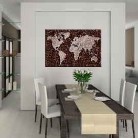 Świat kawy - obraz na ścianę do kuchni nr 2105