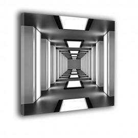 Nowoczesny korytarz - obraz na ścianę powiększający wnętrze nr 2107