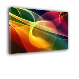 Wielokolorowy - obraz nowoczesny abstrakcja nr 2115