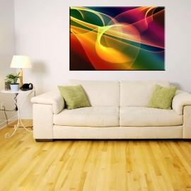 Wielokolorowa - obraz nowoczesny abstrakcja nr 2115