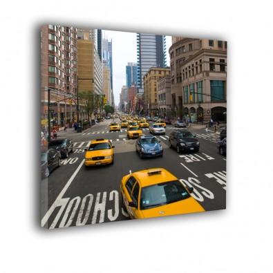 Żółte taxi w Nowym Jorku - obraz nowoczesny nr 2122