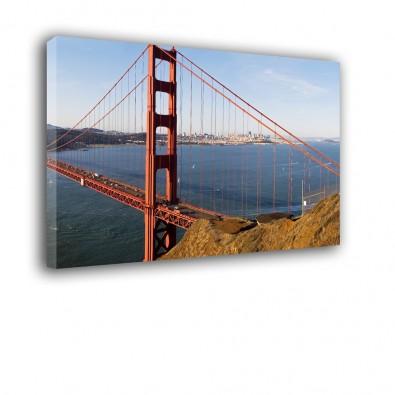 Most San Francisco - obraz na płótnie nr 2133