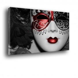 Wenecka maska Kobieta - obraz nowoczesny nr 2006