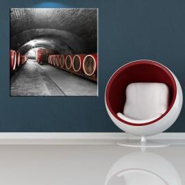 Piwnica z beczkami - obraz na ścianę nr 2144