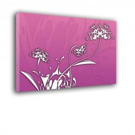 Różowe dmuchawce - obraz na ścianę nr 2183