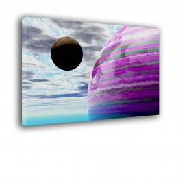 Kosmos planety - obraz na ścianę nr 2188